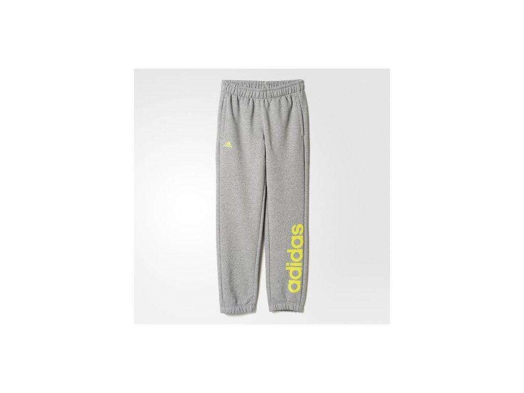 Adidas  tepláky YB ESS LIN BRPC      solar yellow