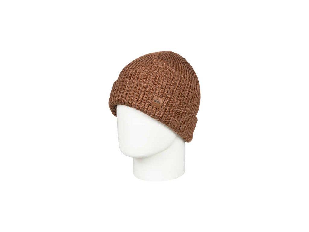Quiksilver - čiapka ROUTINE BEANIE golden brown