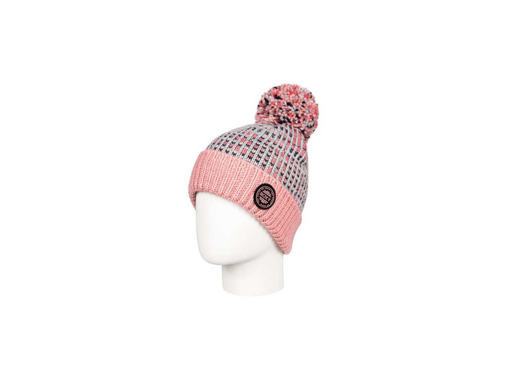 Roxy - čiapka SNOWFLURRY  GIRL  BEANIE warm heather grey
