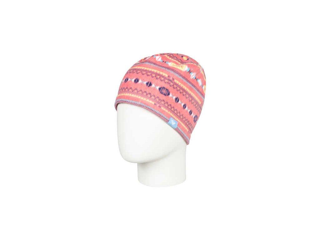 Roxy - čiapka LILY TEENIE shell pink stripes