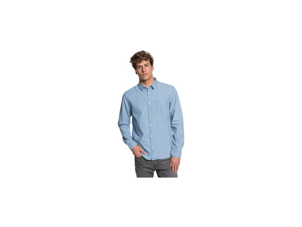 Quiksilver - košelaDR CHAMBRAY SHIRT used