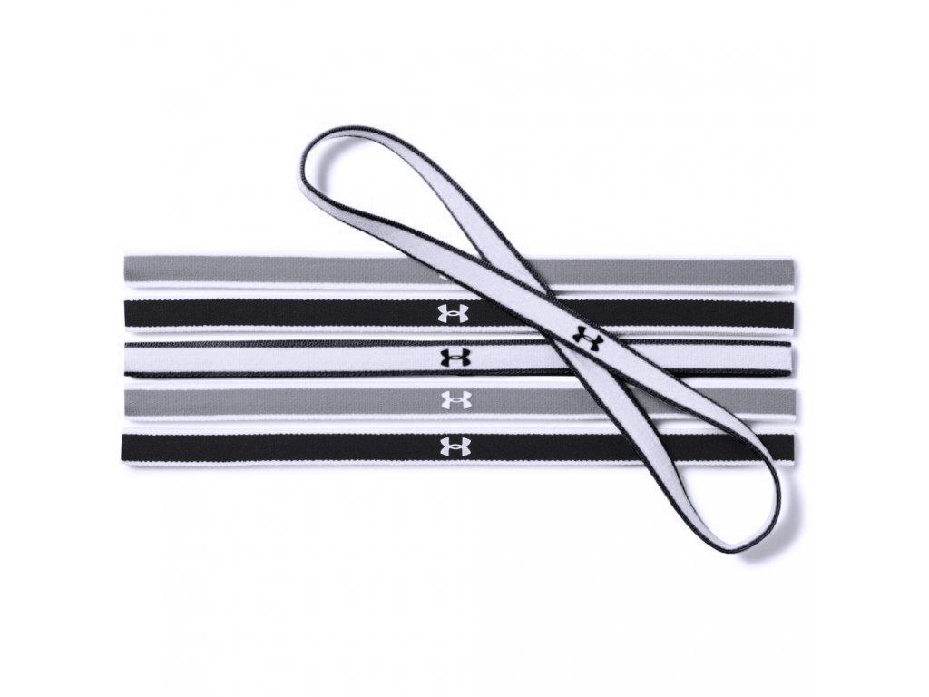 Under Armour Mini Headbands 6 PK Haarbandjes Zwart 1286016 005[1]