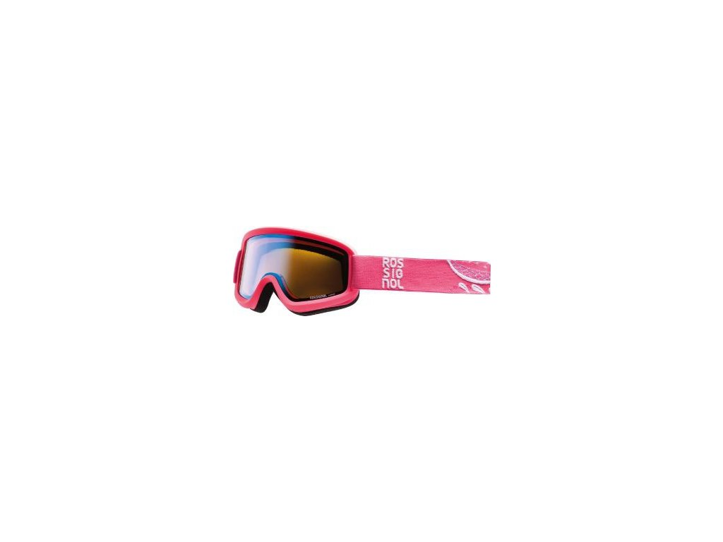 Rossignol - okuliare L ACE W FLOWER PINK - CYL PINK