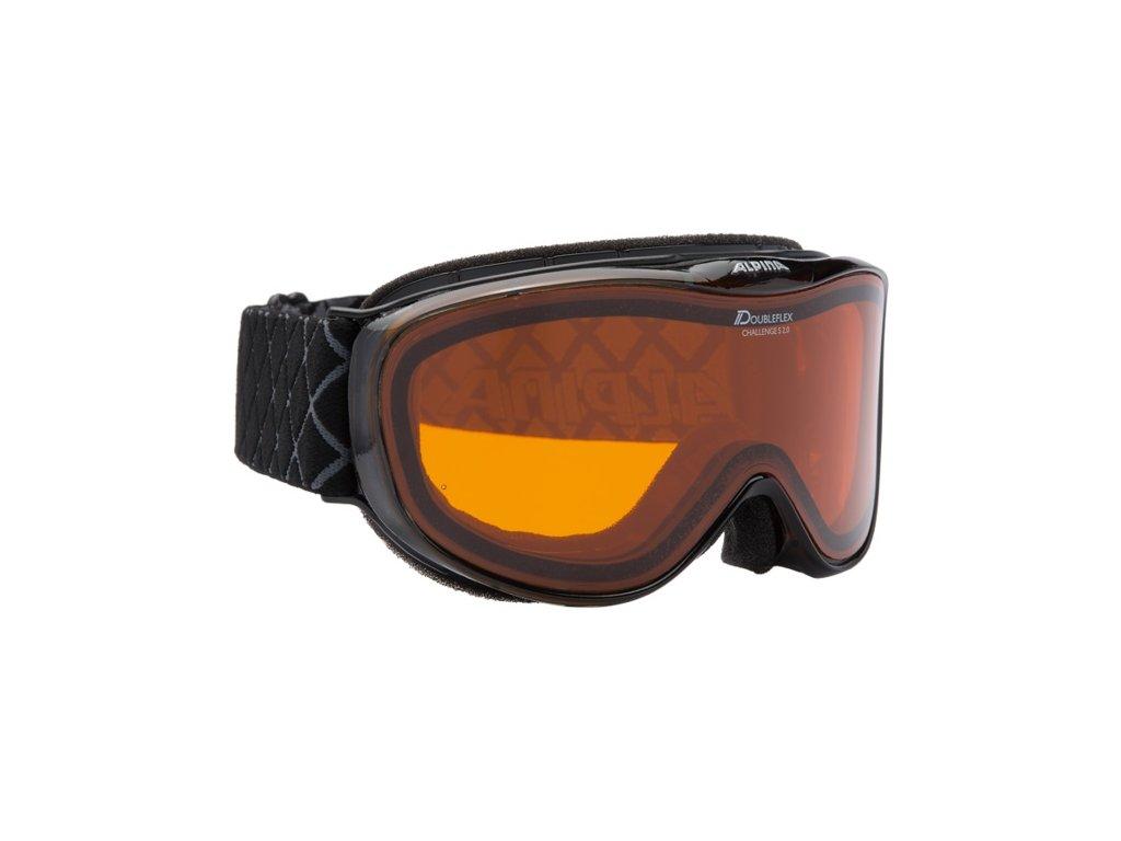 Alpina okuliare L A CHALLENGE S 2.0 D DLH black transparent