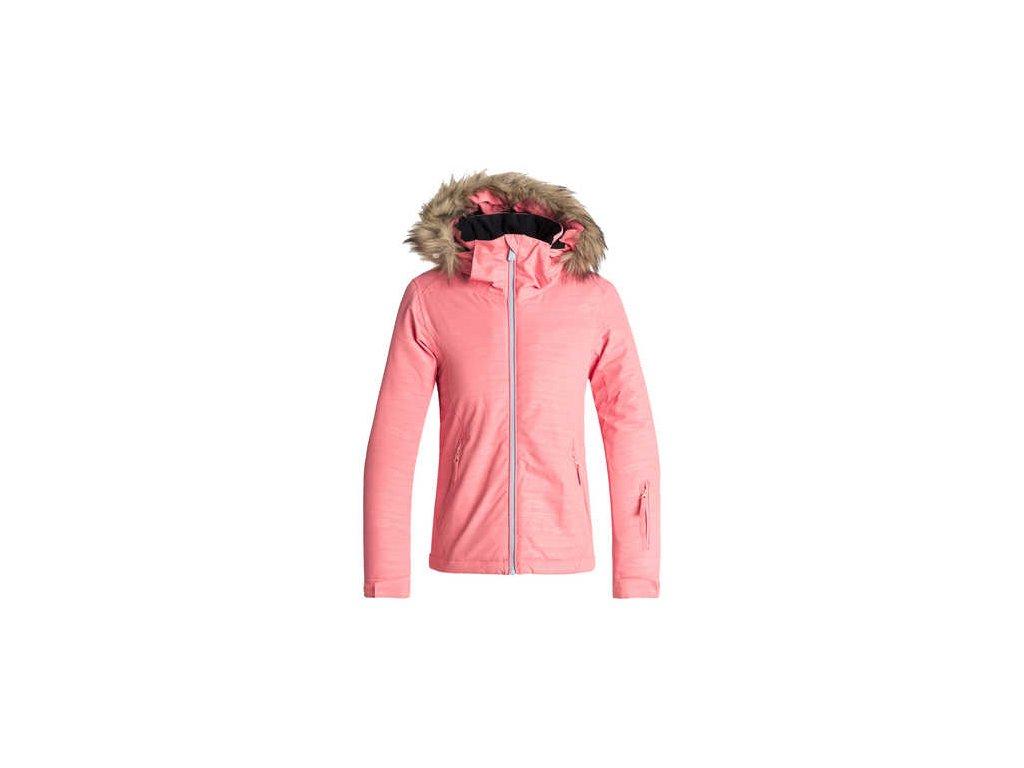 Roxy - bunda Z JET  SKI  GIRL  EMBOSSED  JK shell pink