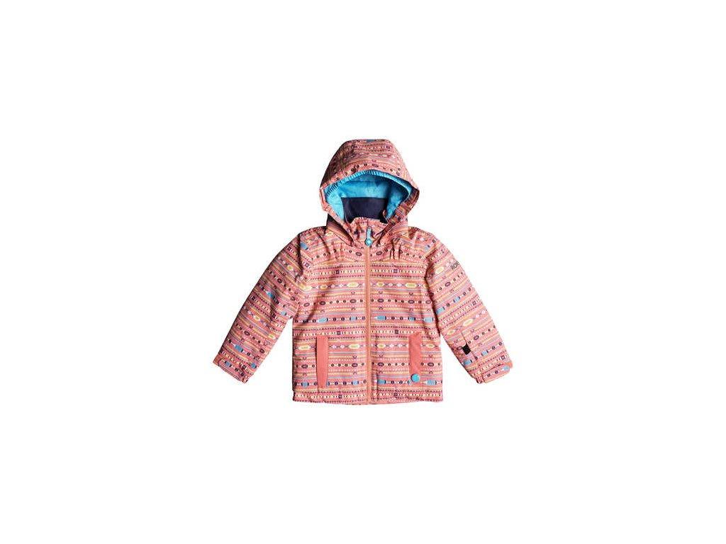 Roxy - bunda Z MINI JETTY JK shell pink