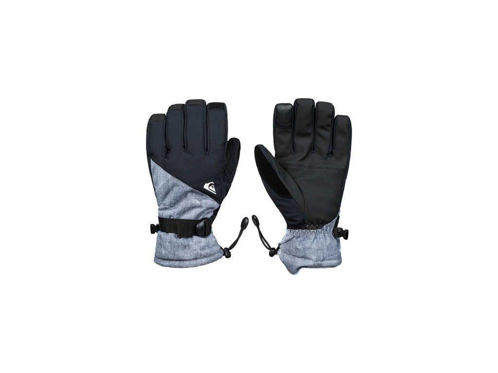 Quiksilver - rukavice L MISSION GLOVE grey simple