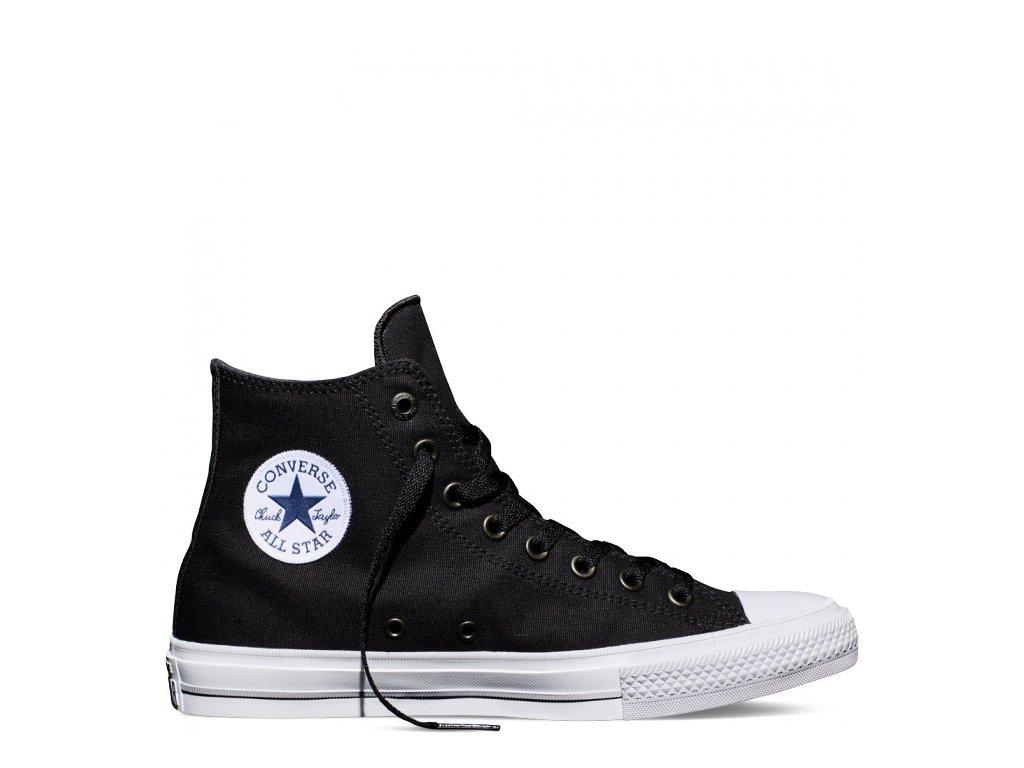 CONVERSE - obuv STR Chuck Taylor All Star II black-white-navy
