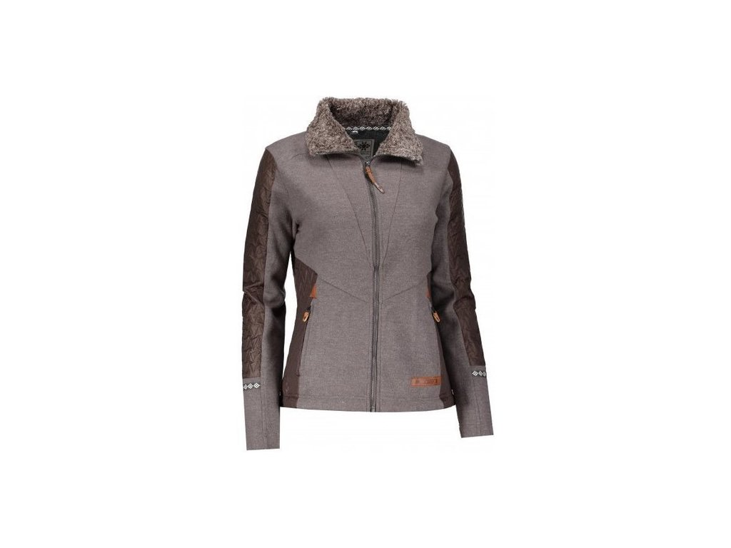 Torstai - mikina TESSA dark grey heather