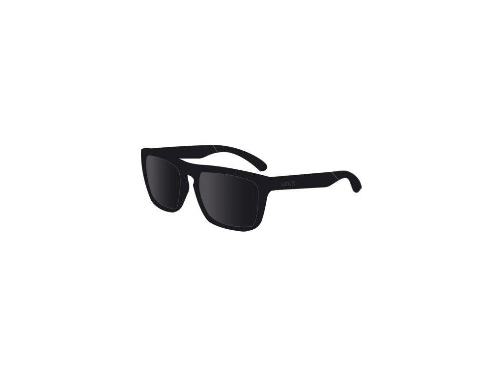 Vans - okuliare F SQUARED OFF BLACK V07EBKA