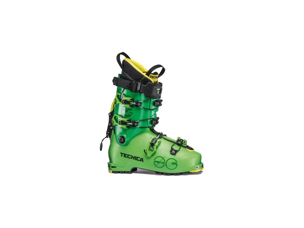 TECNICA - lyžiarky ZERO G TOUR SCOUT 110 18/19 bright green