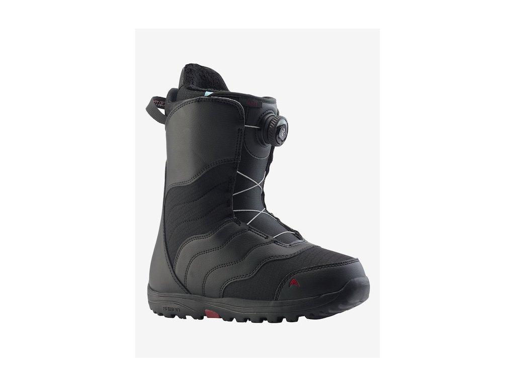 7d9fd6c8e750 BURTON - obuv SNB MINT BOA 18 19 black - Belda.sk