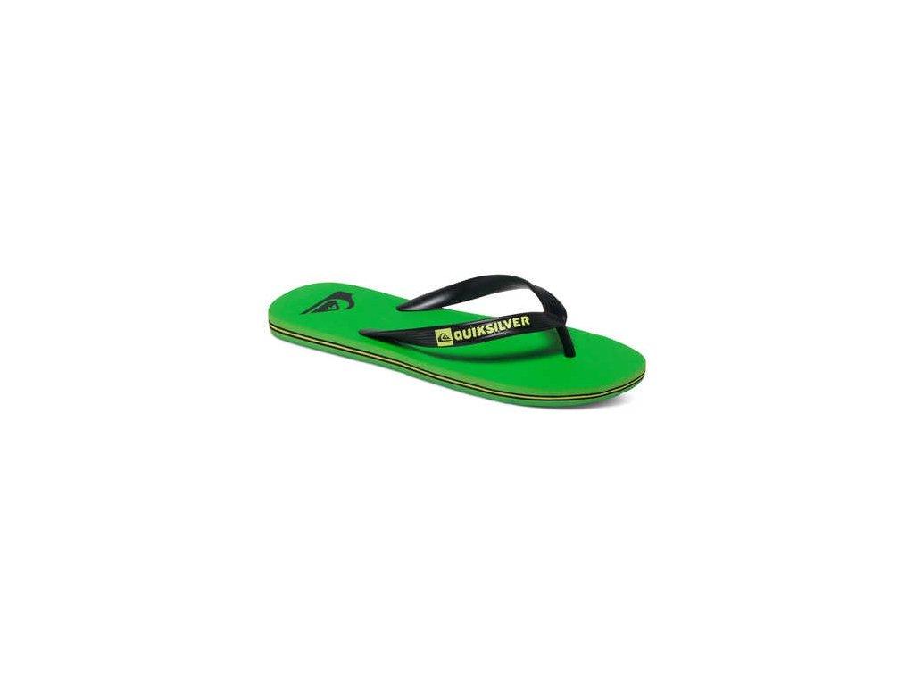 QUIKSILVER - obuv SW MOLOKAI  green-black