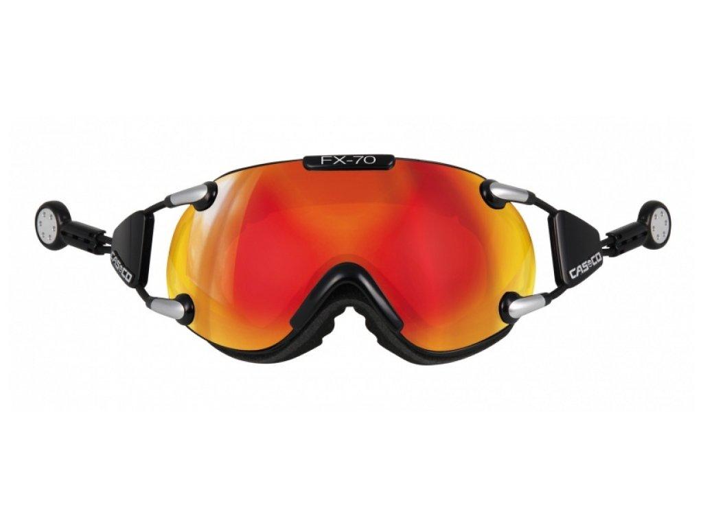 Casco okuliare L FX70 CARBONIC black/orange