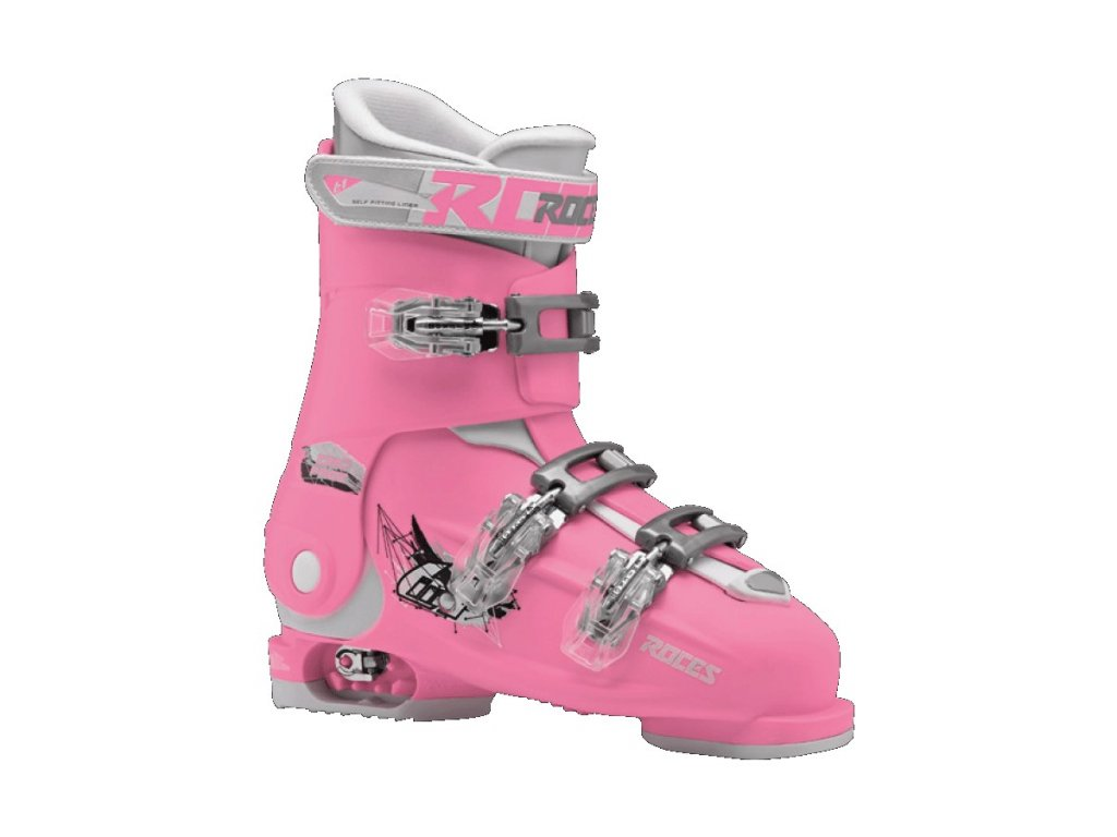 ski shoes roces idea free deep pink white 36 40
