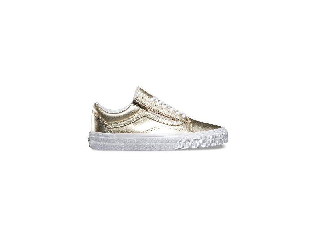 Vans  obuv  OLD SKOOL ZIP  gold  white