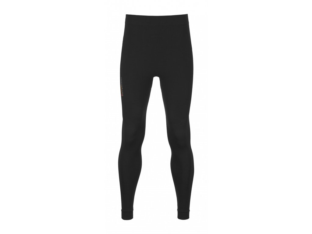 ORTOVOX - nohavice  Merino Competition Long Pants black raven