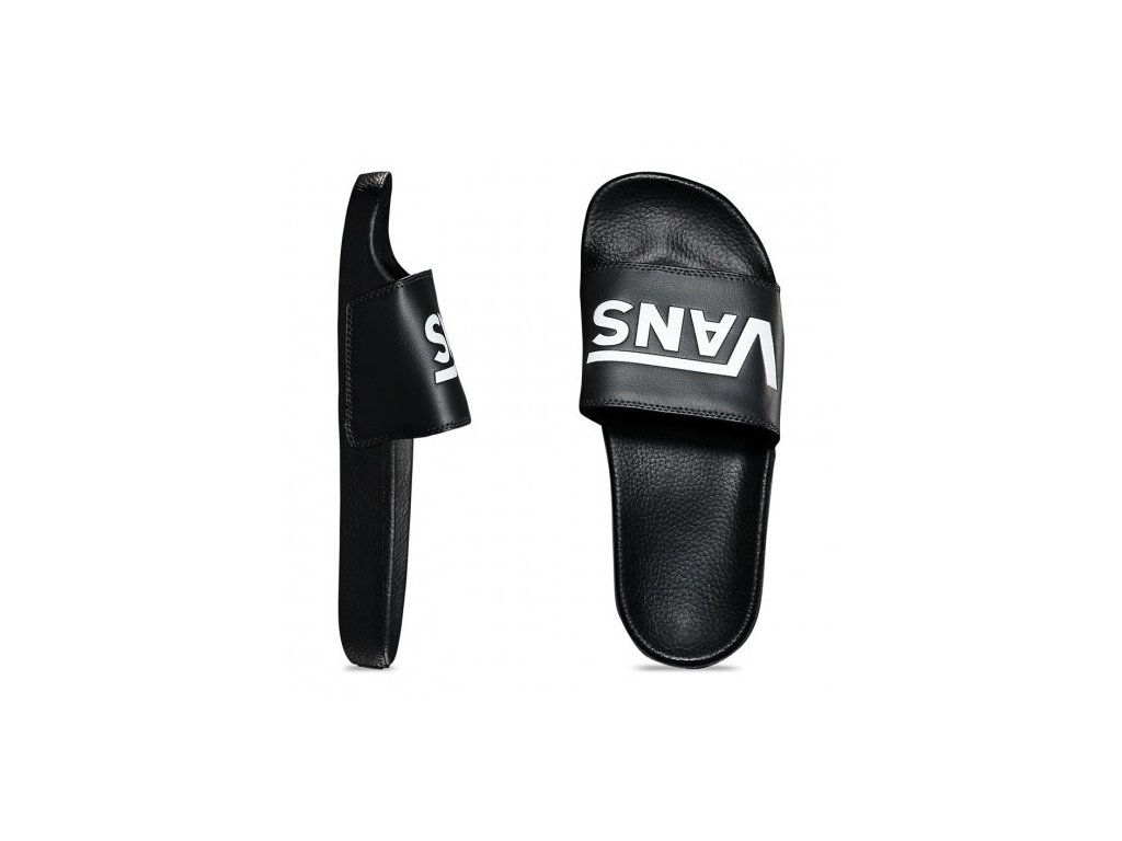Vans - obuv STR SLIDE-ON black