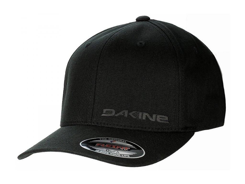 Dakine - šiltovka SILICONE RAIL BLACK