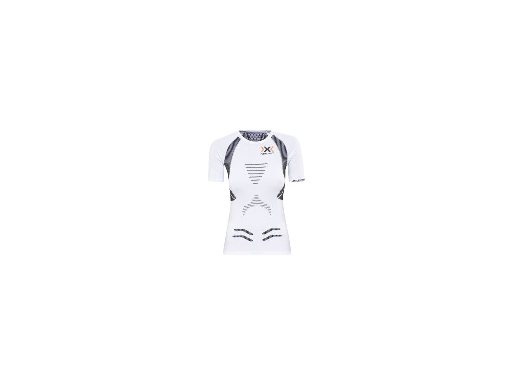 x bionic running lady the trick ow shirt sh sl white black nos[1]