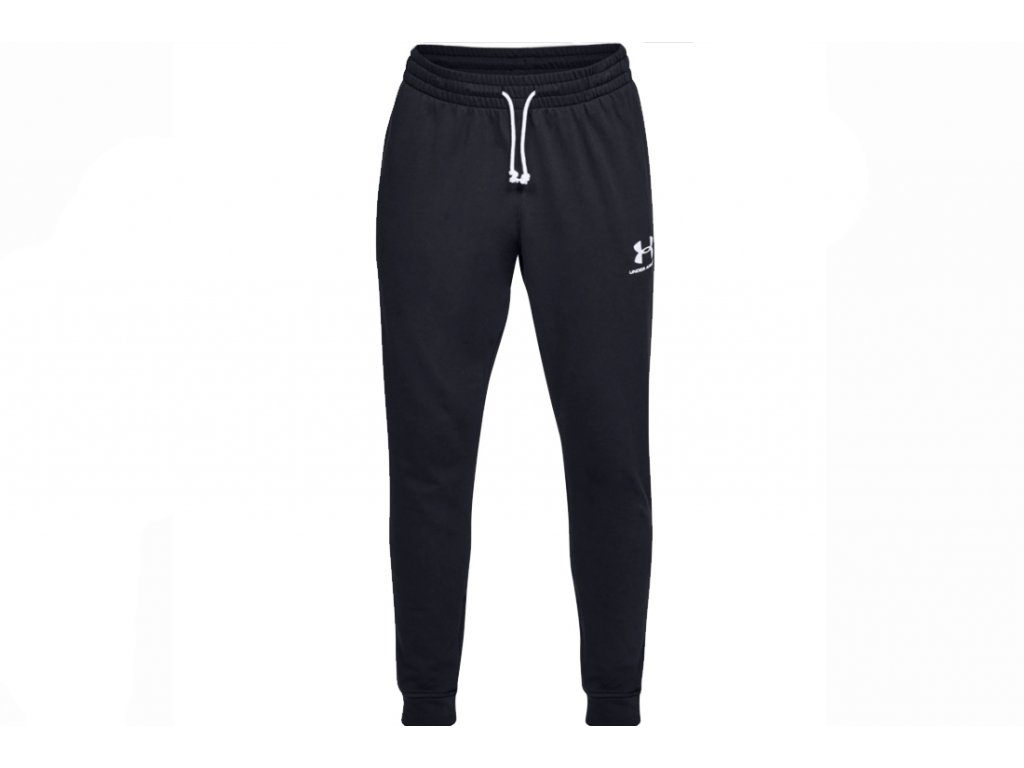 Under Armour - tepláky SPORTSTYLE TERRY JOGGER black