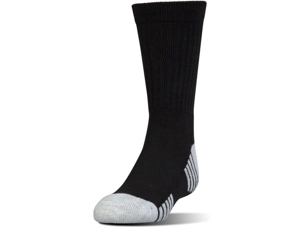 Under Armour - ponožky HEATGEAR CREW (3pc)black