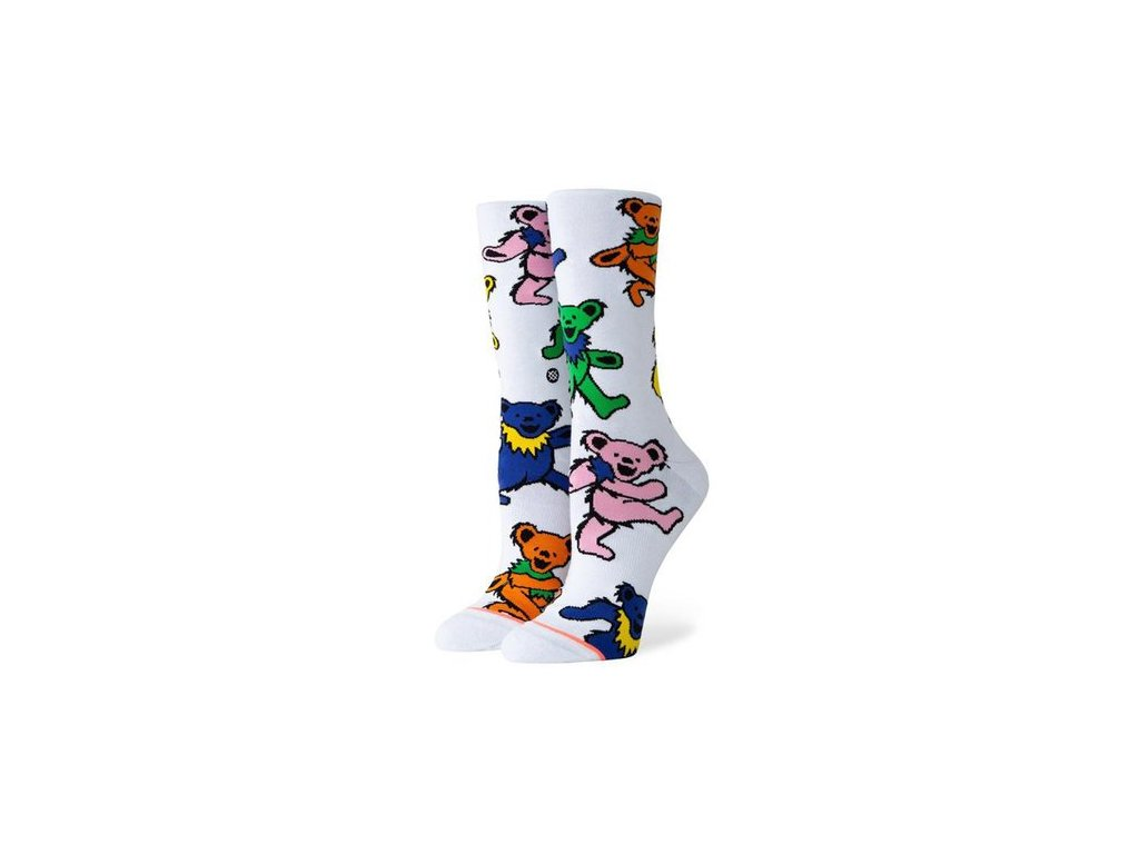 Stance - ponožky BEARS CHOICE white