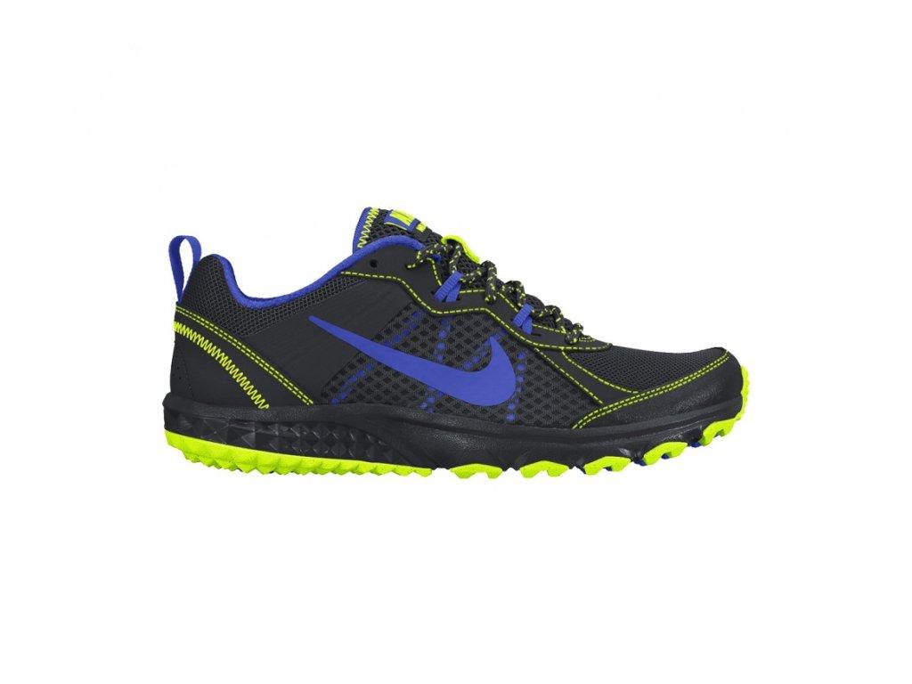 Nike  obuv WILD TRAIL black/lime/blue