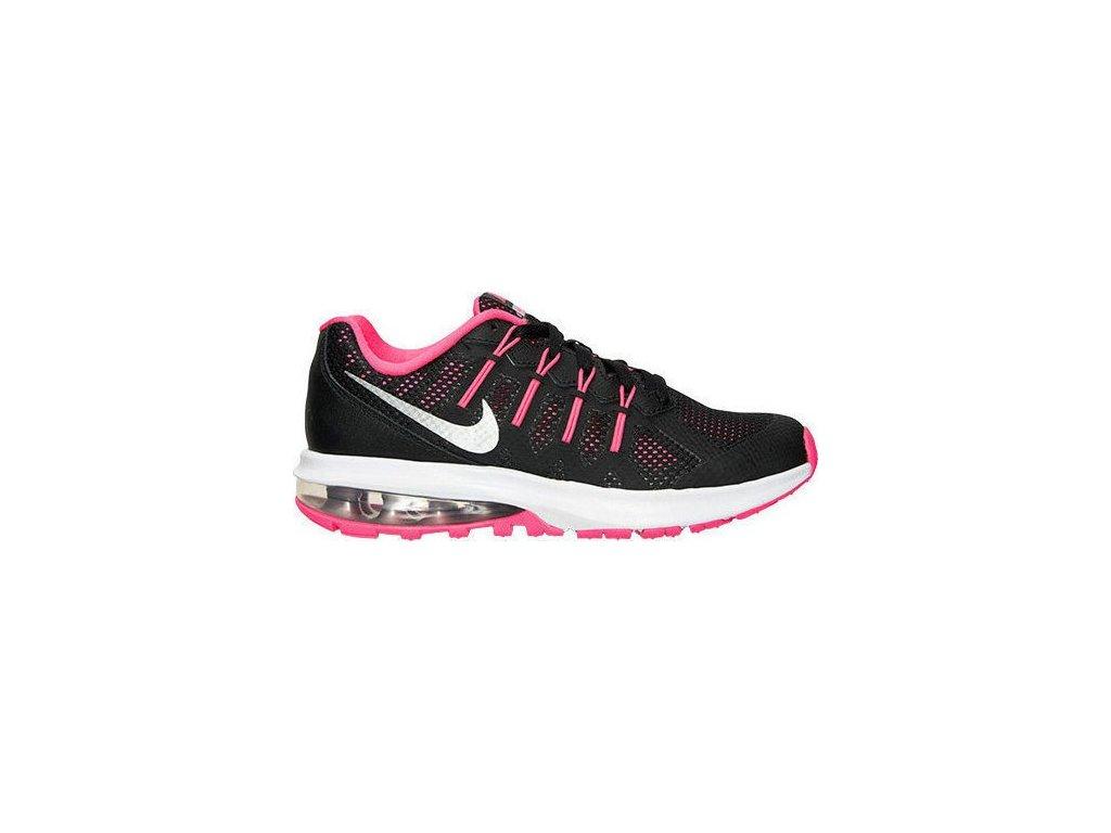 NIKE - obuv RUN AIR MAX DYNASTY (GS) black/vivid pink