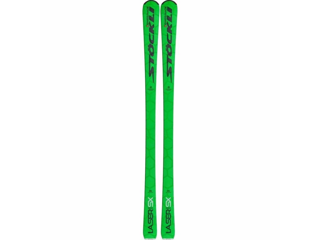 STÖCKLI - LYŽE STOCKLI LASER SX neon green 19/20