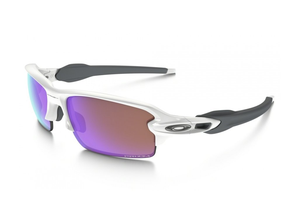 Oakley - okuliare FLAK 2.0 OO9295-06 Polished white / Prizm Golf