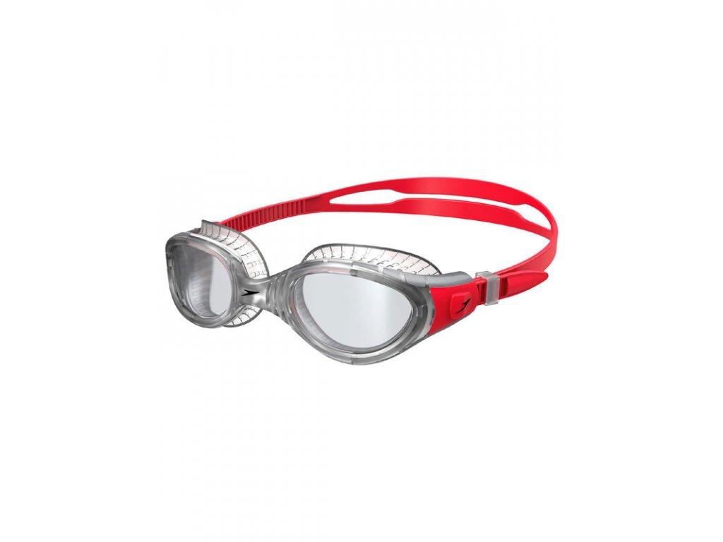 speedo futura biofuse flexiseal lava red clear lens goggles 811532b979 c[1]