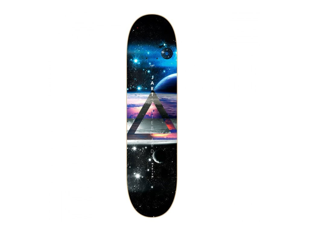 Jart - doska LIFE 7,87 MC Design deck black/grey/blu