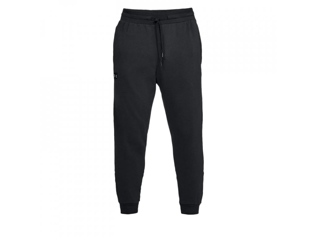 panske teplakove nohavice under armour rival fleece jogger blk[1]