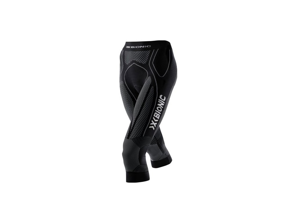 X-bionic - nohavice  THE TRICK LADY RUNNING PANTS MEDIUM black/anthracite