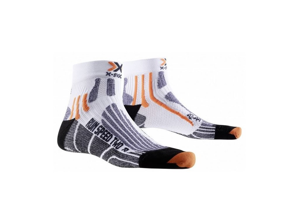 X-Bionic - ponožky X-SOCKS RUN SPEED TWO white/black