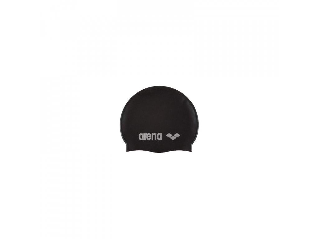 plavecka ciapka arena classic silicone cap black[1]