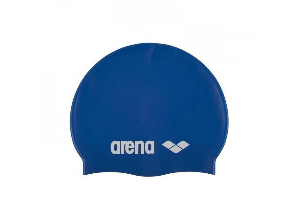 juniorska plavecka ciapka arena clasic silicone jr nebesky modra bila[1]