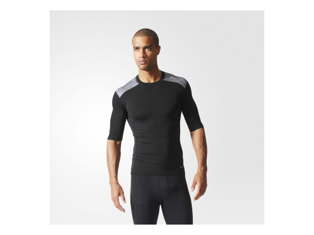 Adidas  tričko KR TF BASE SS black