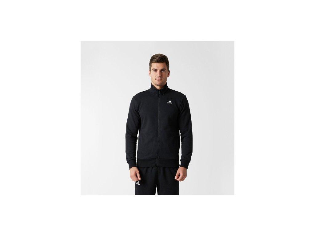 Adidas  mikina LIN TTOP black