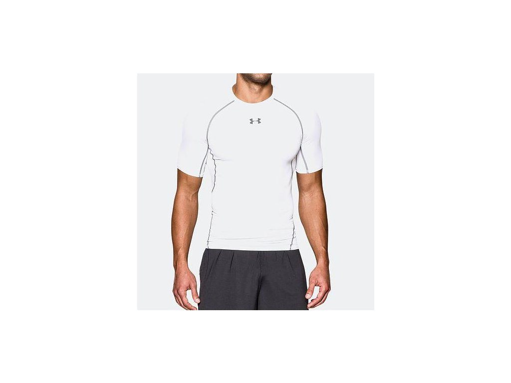 UNDER ARMOUR - tričko KR HG ARMOUR SS white
