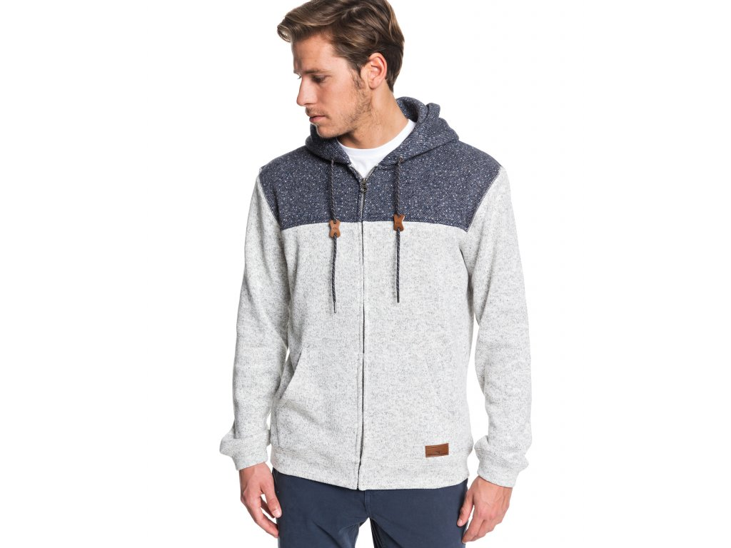 LIGHT GREY HEATHER MENS CLOTHING QUIKSILVER JUMPERS EQYFT04013 SJSH 1[1]
