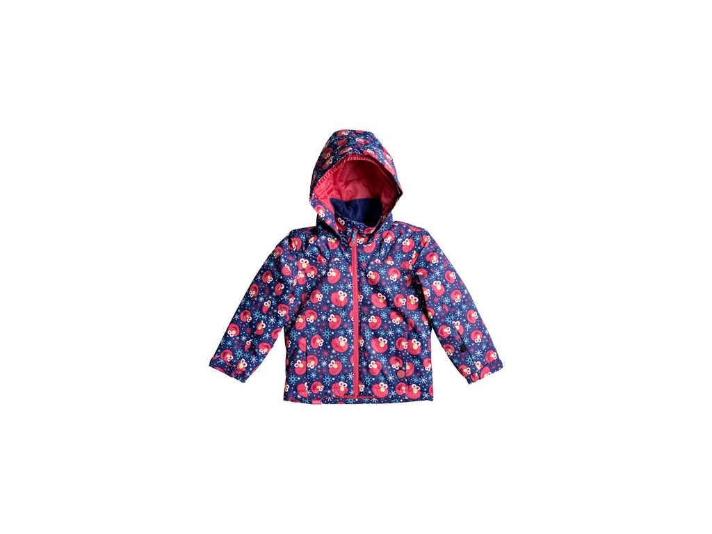 ROXY - bunda Z MINI JETTY  Elmo Print Blueprint