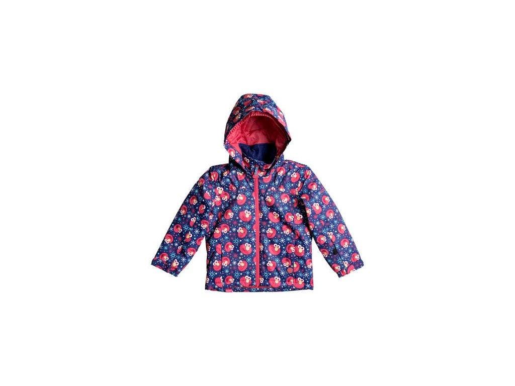 Roxy - bunda Z MINI JETTY  Elmo Print Blueprint