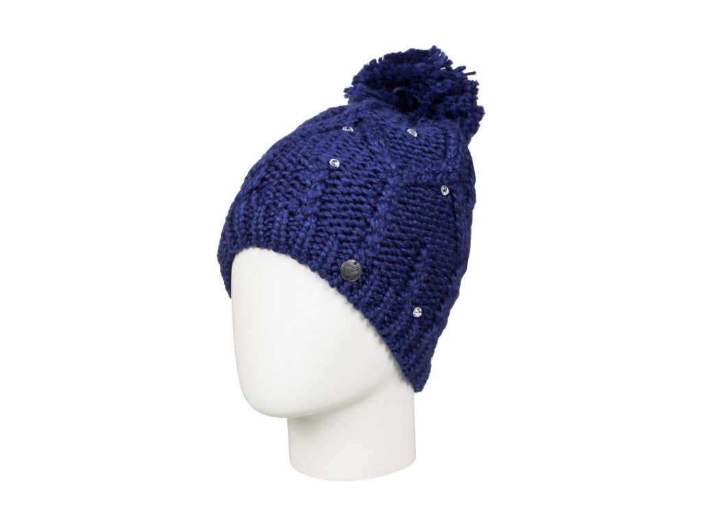Roxy - čiapka SHOOTING STAR BEANIE blue print