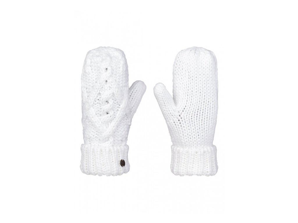 ROXY - rukavice   SHOOTING STAR MITTEN bright white