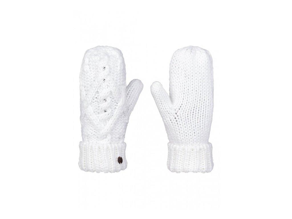 ROXY - rukavice   SHOOTING STAR MITTEN bright white