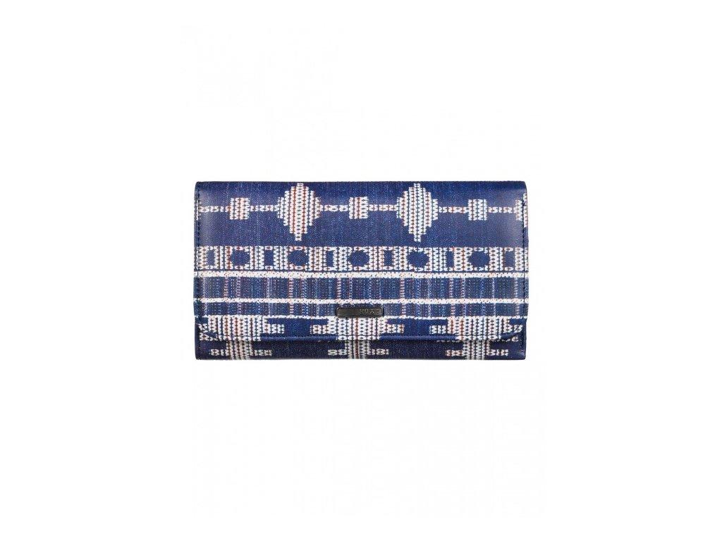Roxy - peňaženka MY LONG EYES blue print