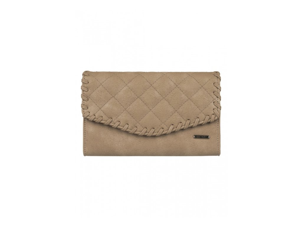 Roxy - peňaženka BIRDCAGE bone brown
