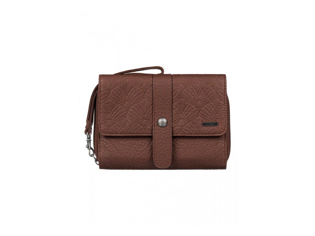 ROXY - peňaženka CALL ME dark brown